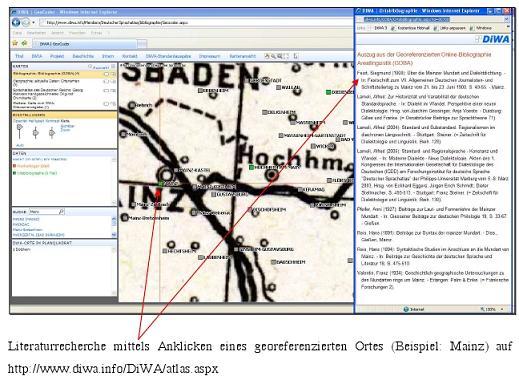 Georeferenzierung Mainz
